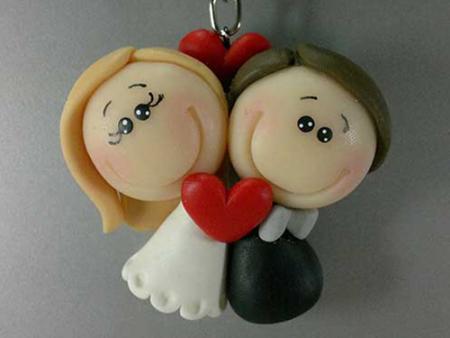 chaveiro-biscuit-para-lembrancinha-de-casamento
