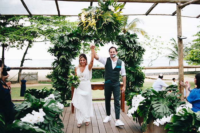 casamento greenery tropical