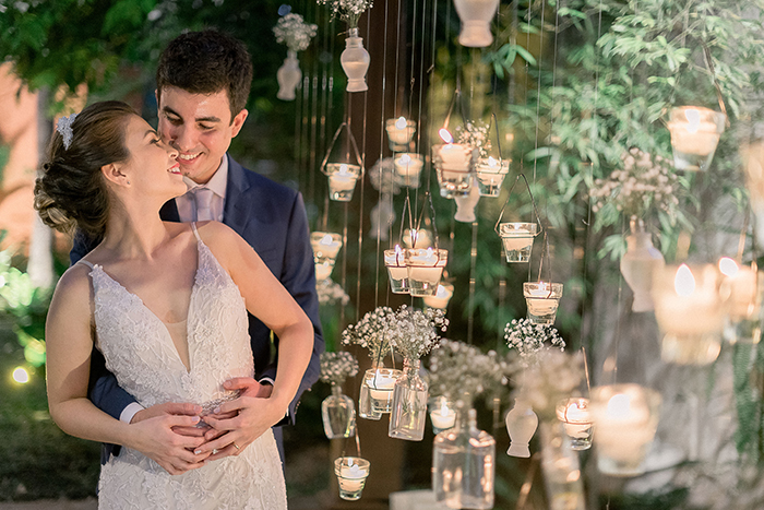 casamento no espaço moní