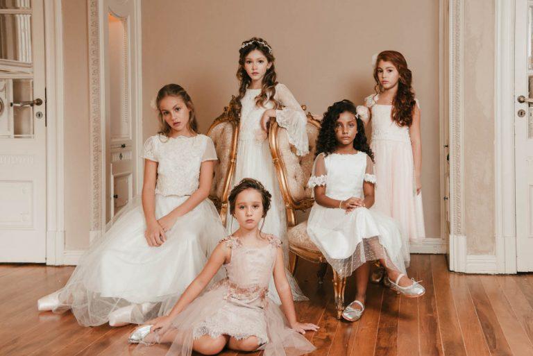 {Editorial Quartzo} Inspiração de vestidos cheios de amor para daminhas