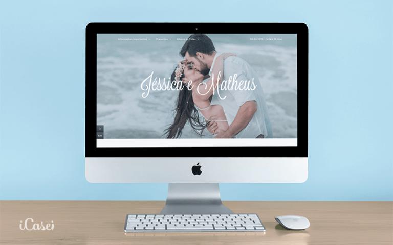 site de casamento: 20 motivos para escolher o iCasei