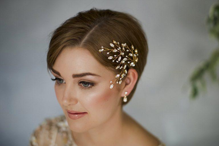 penteados para casamento em cabelo curto