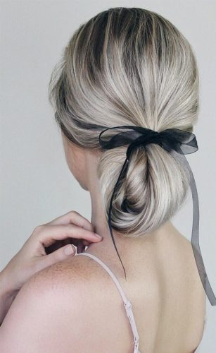 penteado-com-laço-cabelo-curto-liso