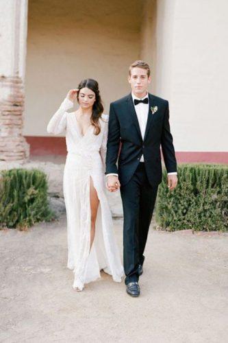 vestido-casamento-civil-longo-com-fenda