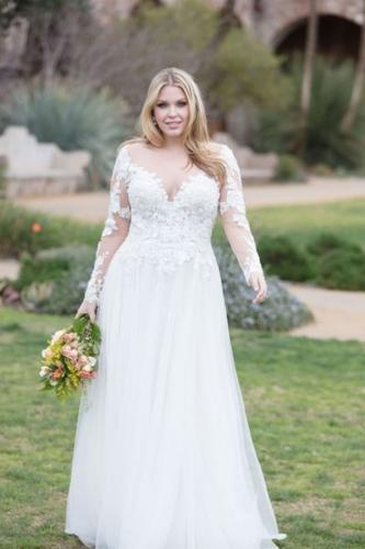 d3d255ecb0b1 Vestido de Noiva Plus Size: todas as dicas para escolher o seu! (2019)