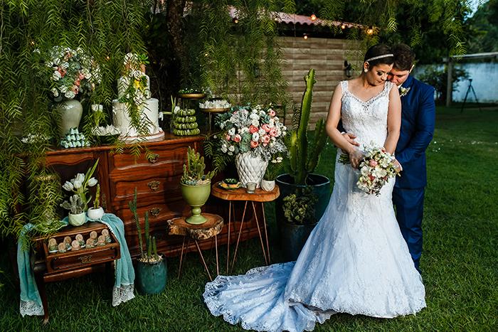 casamento com tema cactos