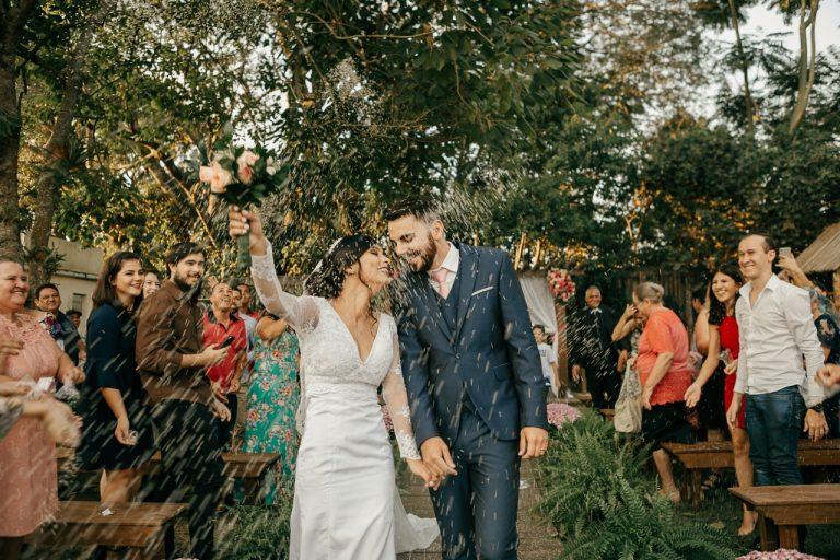Mini wedding DIY meigo em tarde aconchegante no interior de São Paulo – Carla & Leonardo