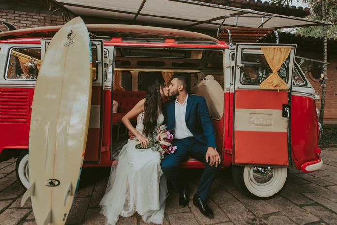 Casamento delicado e sem frescuras no pôr do sol em Campinas – Danielle & Allan