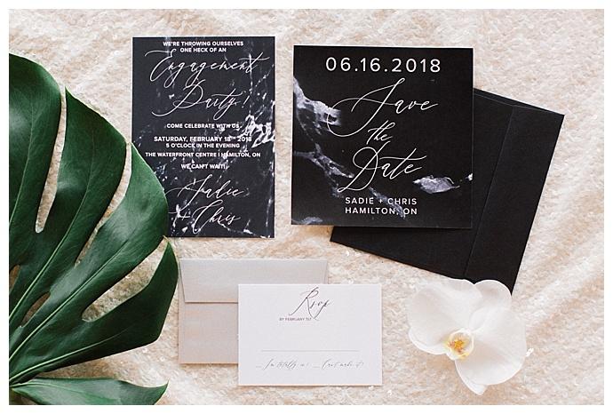 convite festa noivado