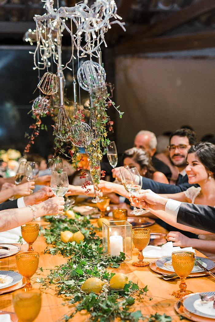Vibe italiana em casamento numa casa de fazenda no meio de São Paulo – Olivia & Luigi