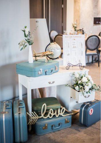 decoração-noivado-tema-viagem