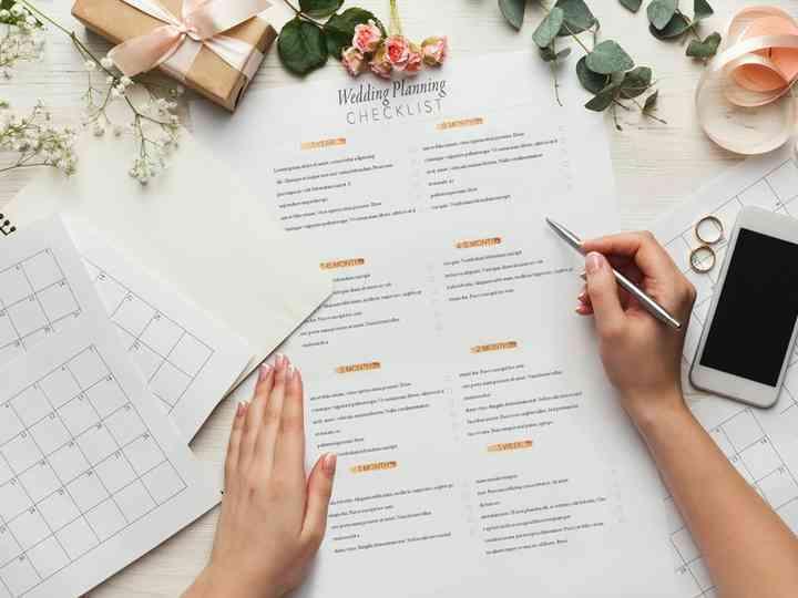 montando a lista de convidados de casamento