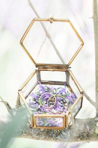 porta-aliança-caixinha-de-vidro-hexagonal