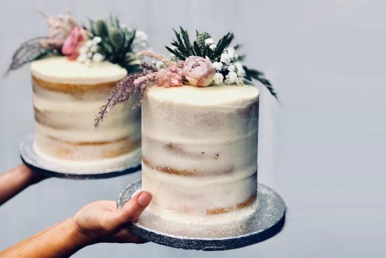 bolo de casamento tendência