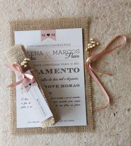 Convite De Casamento Rustico As Principais Caracteristicas E