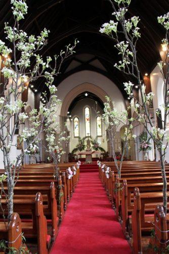 decoração-caminho-da-noiva-igreja