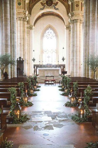 decoração-casamento-igreja-greenery