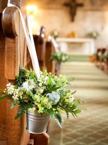 decoração-casamento-vaso-metal