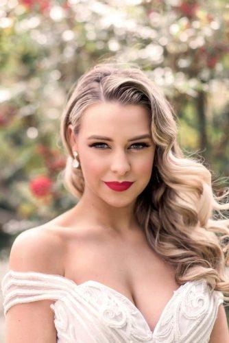 Penteados De Noiva De 150 Lindas Inspirações Pra Escolher
