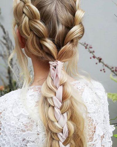 penteados-noiva-trança