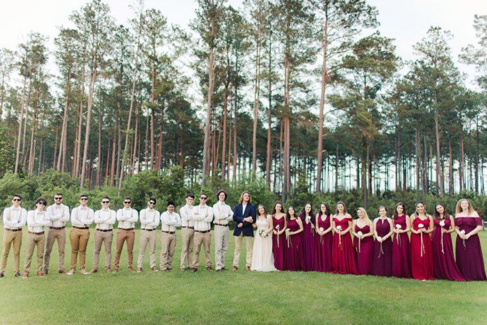 Casamento DIY cheio de amor à beira do Lake Park, nos EUA – Débora & Jesse