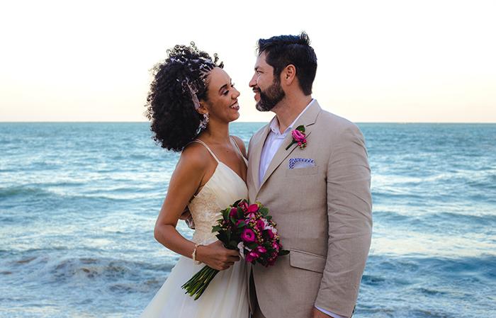 Casamento sustentável intimista ao ar livre em Pernambuco – Priscila & Victor