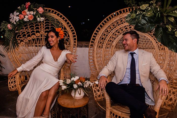 Destination wedding minimalista, intimista e full of love no Rio de Janeiro – Amanda & Scott