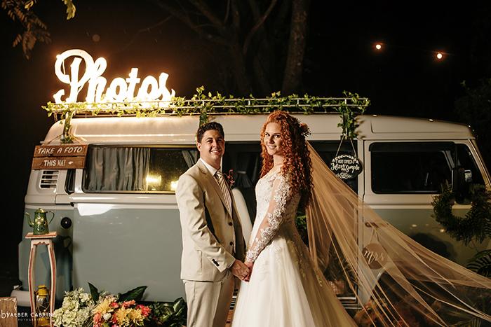 Mini wedding boho rústico em tarde romântica e ensolarada de São Paulo – Jackeline & Jorddy