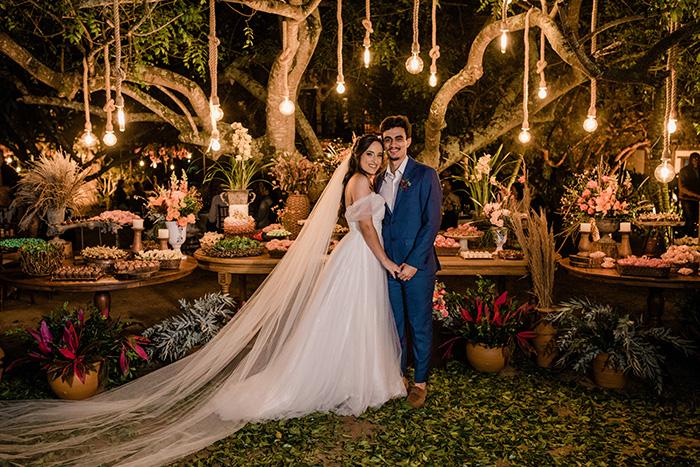 Casamento romântico e rústico no Rio das Ostras – Bianca & Davi
