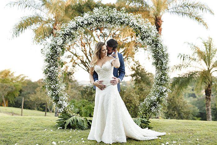 Home wedding descontraído com toques clássicos e almoço em Jaguariúna- Larissa & Antonelli