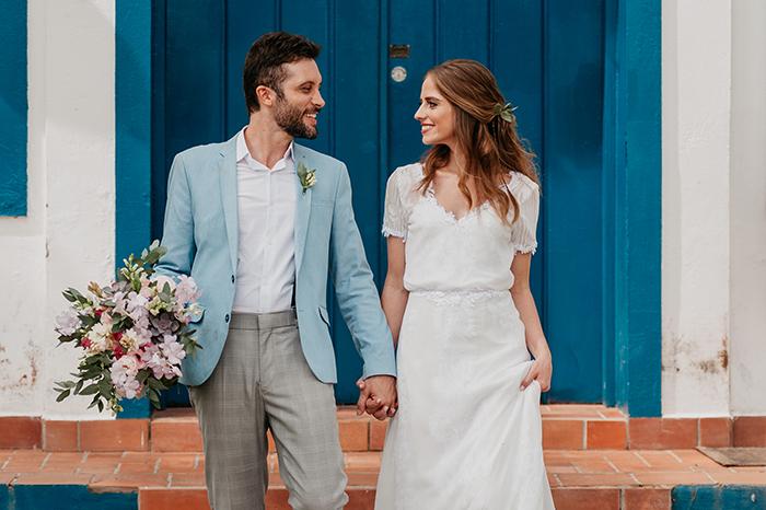 Casamento boho romântico em manhã cheia de sol na fazenda de Itatiba – Maryelen & Victor