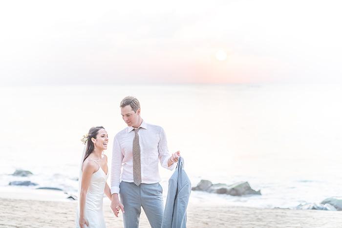 Destination wedding rústico chic como pedem os casamentos inesquecíveis em Fernando de Noronha – Renata & Kevin