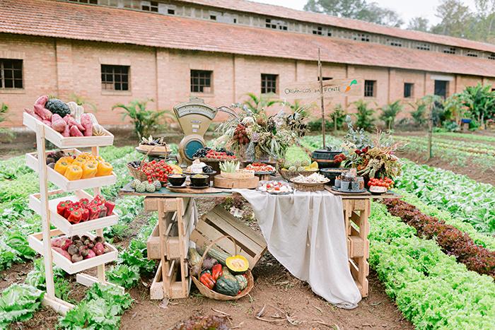 Tendências 2019/2020 de gastronomia para casamento no campo