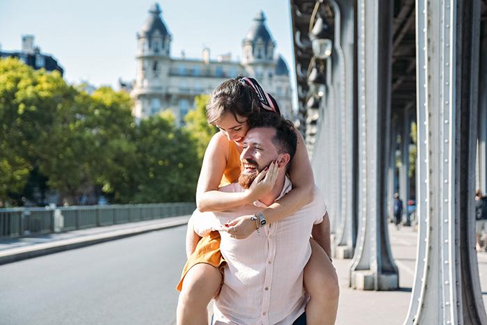 Ele disse OUI! Pedido de casamento surpresa na cidade do amor, Paris – Gaia &Jean