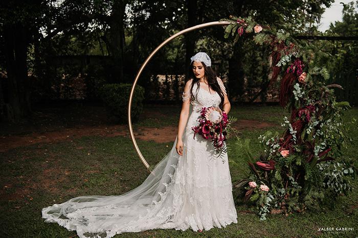 Casamento rústico DIY em final da tarde íntimo no interior de São Paulo – Greisy & Felipe