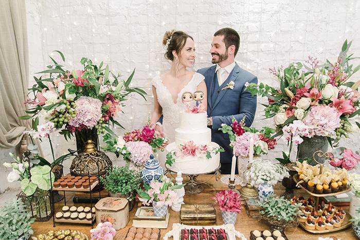 Mini wedding intimista e aconchegante em São Paulo – Bianca & Felipe