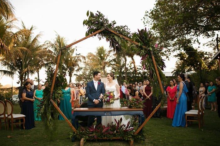 Um destination wedding aconchegante e alegre no campo para se sentir em casa – Mariana & Rafael