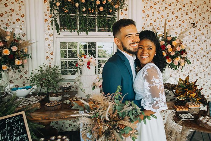 Mini wedding boho rústico em manhã ensolarada no Maranhão – Amanda & Gabriel