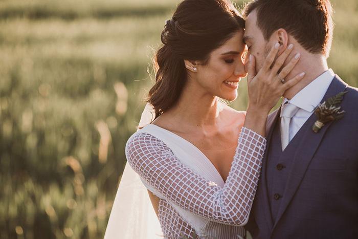 Final de tarde mágico para dizer SIM em casamento clean e elegante no Paraná – Nayara & André