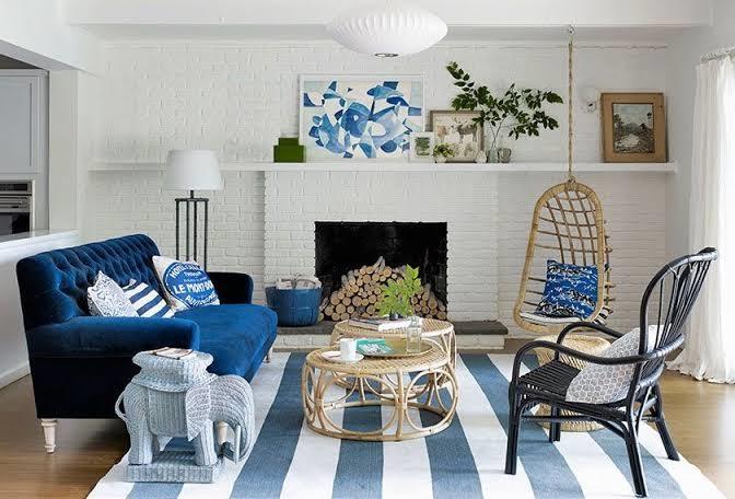 {Vida de Casada} Como usar a cor Pantone do ano, o Classic Blue, na casa nova