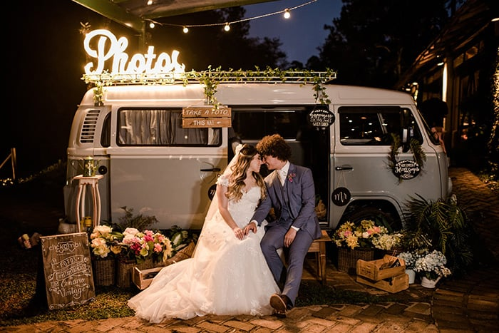 Uma tarde romântica para dizer SIM em cerimônia sob as àrvores no Haras Vila Real- Danyela & Wilson