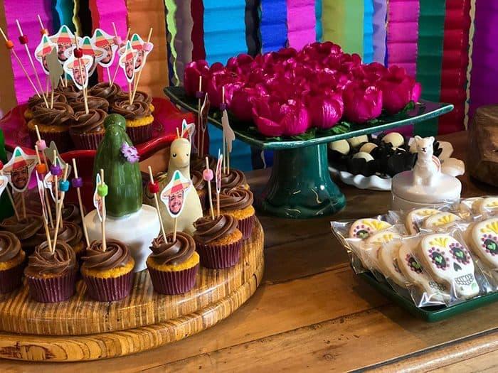 Chá de lingerie divertido da Rebeca com tema mexicano em Brasília