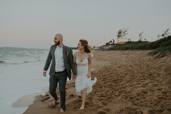Casamento leve e cheio de DIY numa tarde ensolarada em Búzios – Nayran & Renan
