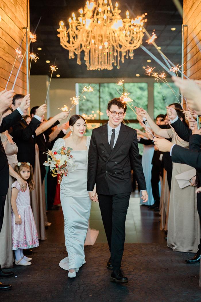 Minimalista e atemporal: um casamento em Brasília com a carinha dos noivos – Ana Julia & Gabriel
