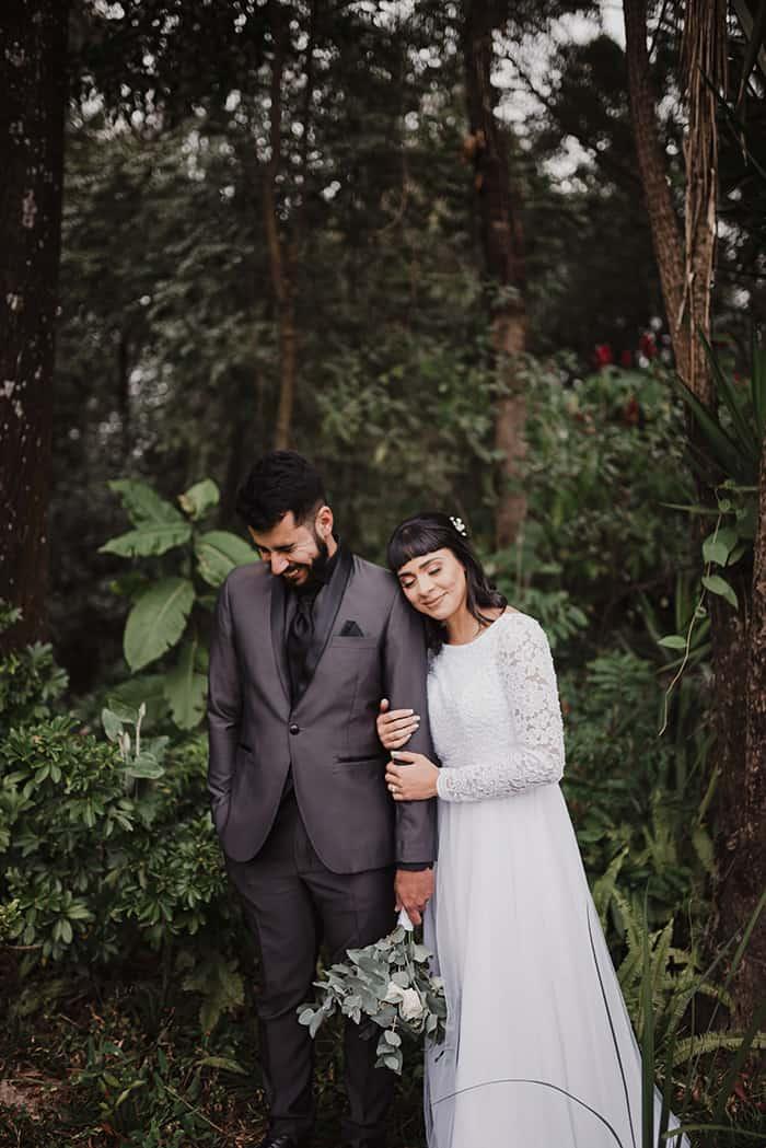 Casamento simples e charmoso em manhã ensolarada no interior de São Paulo – Wanny & Erikson