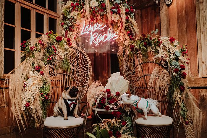 Plano B para casamento boho cheio de personalidade no final da tarde na Villa Mandacarú – Ana Paula & Leonardo