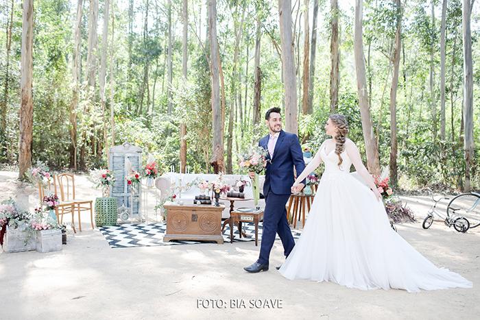 {Editorial Table for 2} Florearte faz um incrível elopement wedding em tempos de COVID-19