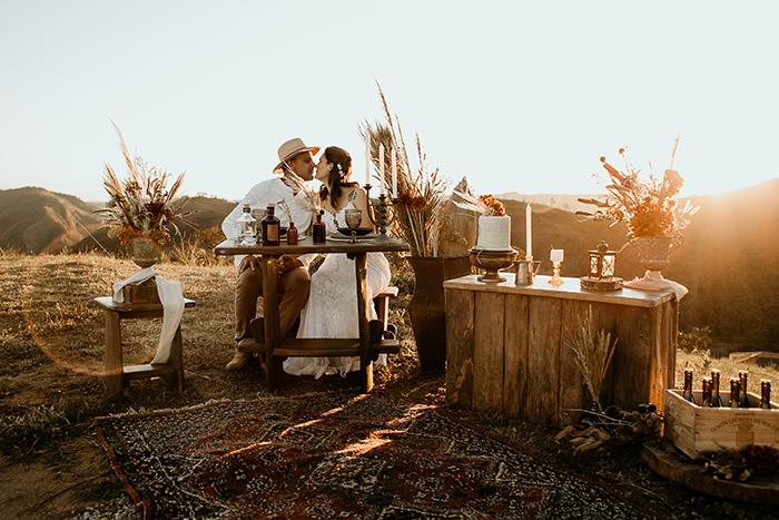 Casamento a dois em clima boho nas montanhas de Minas Gerais – Nathalie & Rodrigo