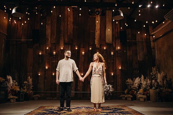 Casamento civil emocionante com transmissão ao vivo no coração de São Paulo – Stefani & Gabriel