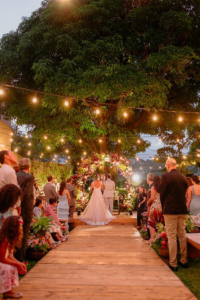 Home wedding rústico e intimista no final da tarde em Vitória – Brenda & Daniel